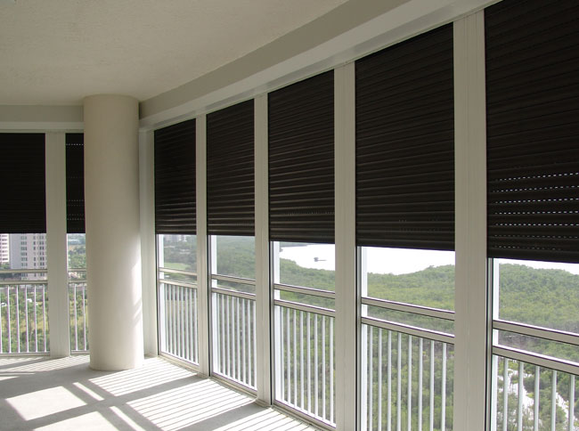 Integrated Hurricane Shutter Screen Amp Railing Systems