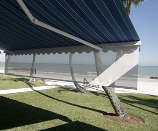 Motorized Retractable Awnings High Velocity Category 5