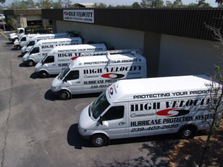 The High Velocity Hurricane Shutter Systems Fleet